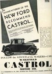 100 lat współpracy Castrol-Ford: reklama Castrol dla Ford T